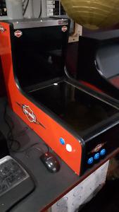 Mini visual pinball Harley Davidson theme