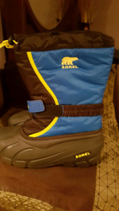 Boys Size 6 New Sorel Winter Boots