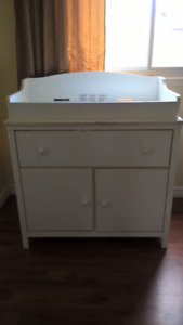 moving sale: changing table; matress double  with box and more;