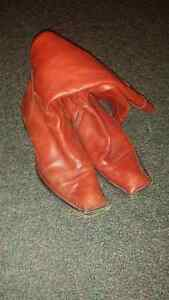Aketohn male red leather shoes for sale Peterborough Peterborough Area image 2