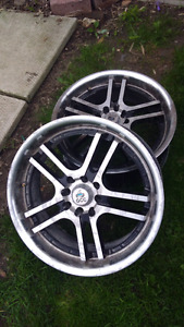 17x7 four bolt universal wheels
