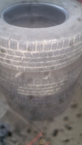 USED TIRES P265/70/17  $80 FOR SET