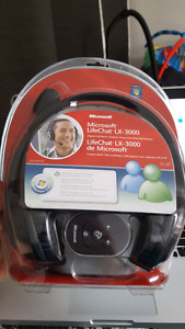Microsoft usb headset/casque