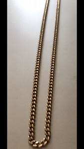 10K Solid Gold Curb Chain!