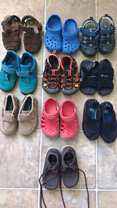 Toddler size 7 summer shoes footwear $5 each or $35 takes all