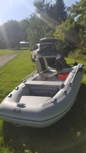 Selling NEW boat GRAND FREESTYLE F330 + MOTOR