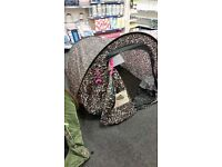 BNWT glam pop up festival tent.