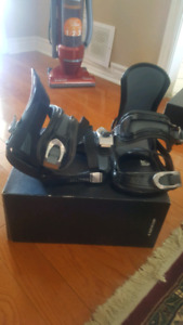 Morrow snowboarding boots and bindings