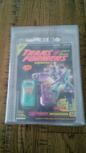 Transformers G2 Breakdown AFA 85 94' Bot Con EX! Only 300!!!