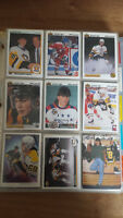 Lot de 150 cartes différentes de Jaromir Jagr hockey cards
