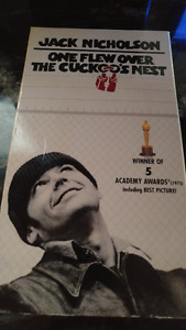 One Flew Over The Cuckoo's Nest VHS Vintage