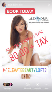 Hair Removal Special on now. Get 20% off for new clients