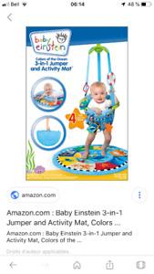 Jolly Jumper baby Einstein