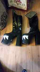 Size 10.5 kiss boots