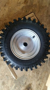 Snowblower tires and rims