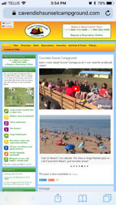 Cavendish beach music festival camp sites!!.