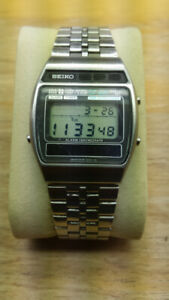 Vintage Seiko Digital Solar watch A258-5069 Circa 1980 RARE