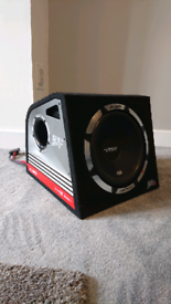Vibe SLR 12 amp and subwoofer combination