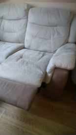 Two and three seater recliner sofas