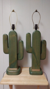 Vintage Artisan Hand Crafted Lamps