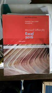 Microsoft office 365 Excel 2016  (intermediate)