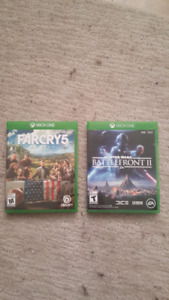 Far Cry 5 and Star wars battlefront 2