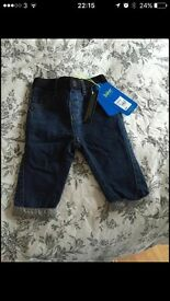 Ted Baker children's Jeans age 6-9 months