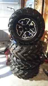 NEW & USED TIRES & TIRES & RIM SETS more sets then in pics conta