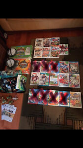 Wii and Wii U Games, Skylanders Giants and Swap Force, Amiibo