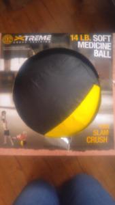 New 14lb Medicine Ball