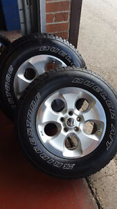 5 Rims and Tires for Jeep Wrangler JK- Mint Condition