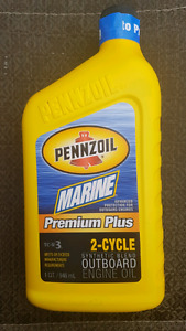 Pennzoil Marine TC-W3 full Syntec 2 Cycle Oil