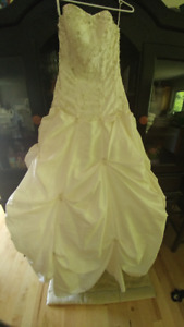Ivory Prom/Wedding dress