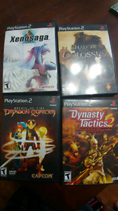 PS2 /Xbox/ 360 /Wii /Gamecube / DS games