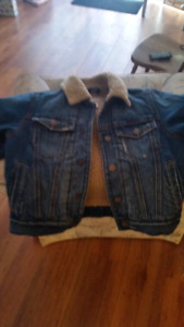 Childrens place lined Jean jacket size 4