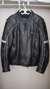 Harley Davidson Men's FXRG Leather Jacket (XL) and pants (38-32)
