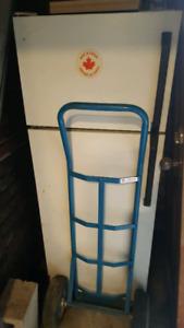 "White 24"" fridge for free"