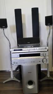 Pioneer 6.1 Channel surround sound system