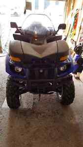 YAMAHA Grizzly 660 4X4  automatique 1549 KM+ pelle