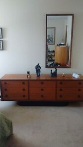 Teak 6 pc bedroom set