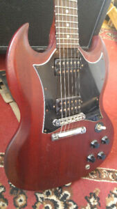 Gibson SG faded cherry electric guitar 2007
