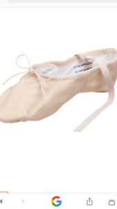 New capezio leather ballet shoes  sz 7 ladies