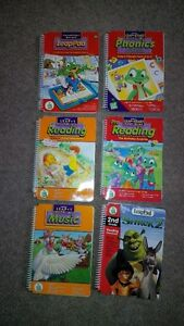 Leap Frog LeapPad, 6 Bools & 5 Cartridges Cambridge Kitchener Area image 4