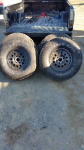 16 inch Chevy/gmc/Toyota 6 bolt rims and tires