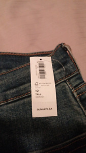 Old navy womens jeans 10 tall NWT $15 ea or 3 for $30