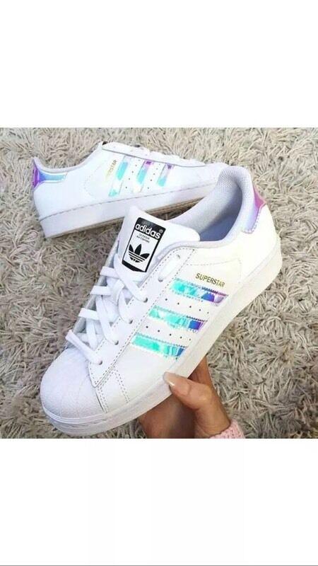 adidas superstar womens trainers iridescent dubai