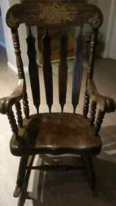 Brown Rocking Chair Peterborough Peterborough Area image 1