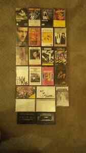 vintage audio cassettes
