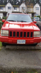 1997 Jeep Grand Cherokee Hatchback