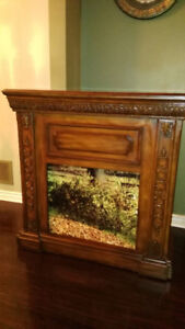 FIREPLACE WOODEN FRAME ONLY  IN AJAX  FOR $70